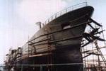 Рыболовецкое судно - обработано снутри и снаружи (Бельгия)